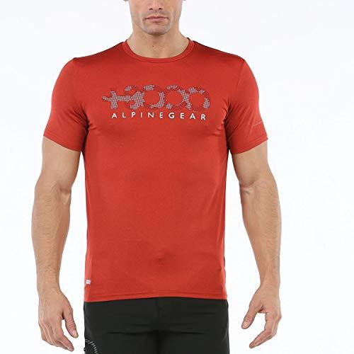 +8000 T-Shirt Wanted pour Homme S Orange Vigore