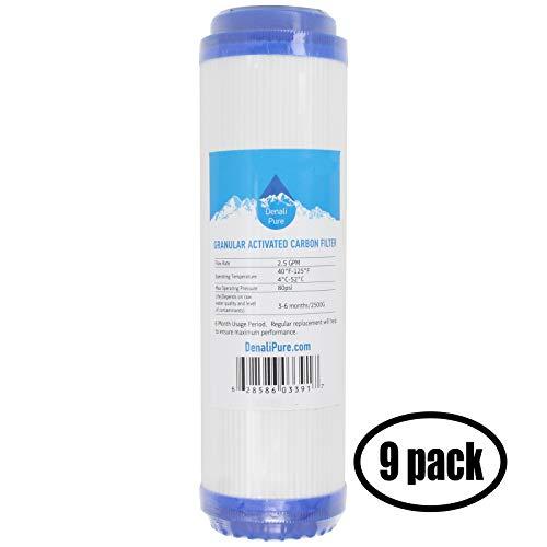 "Granular Activated Carbon Filtres à eau 10/"" X 4.5/"" Cartouches GAC 2 Big Blue"