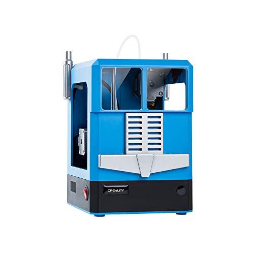HZYYZH Imprimante 3D, Imprimante de Base, Art Design, pour Les Enfants créatifs de la Famille, Développez la pensée stéréo,Blue