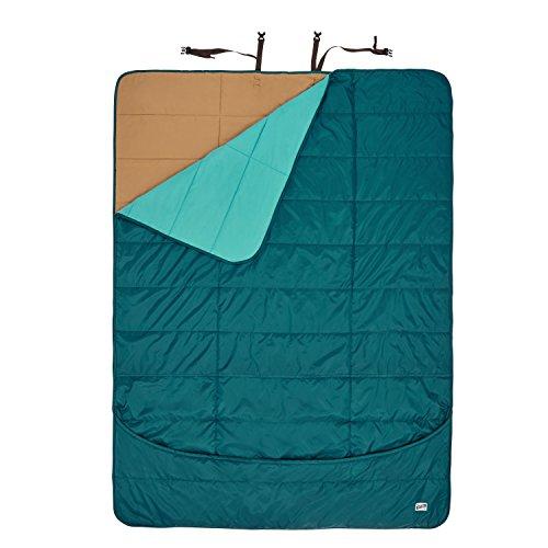 Kelty Shindig Camp Blanket, Deep Teal/Latigo Bay