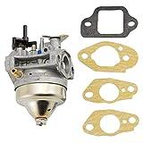 bibididi carburador Honde 16100-Z0L-853 y Juego de Juntas 16221-883-800 16212-Zl8-000, Llave para cortacésped