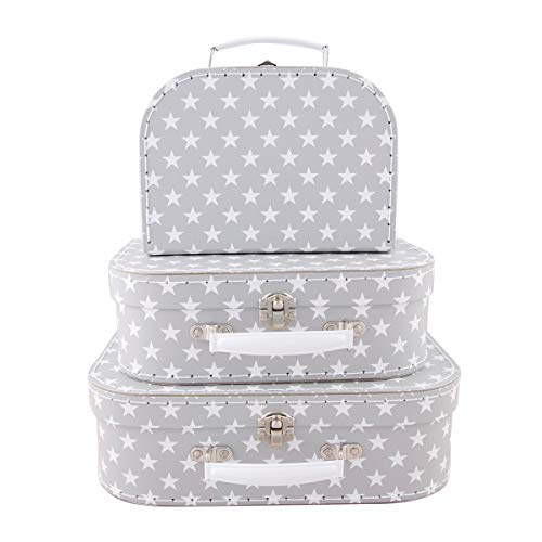 Sass & Belle Nordic Star Suitcases - Set of 3