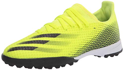 adidas Boy's X Ghosted.3 Turf Soccer Shoe, Solar...