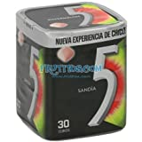 FIVE BOX SANDIA GRAGEAS 6 TARROS 30 CHICLES