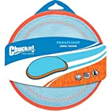 ChuckIt! Paraflight Flyer Dog Toy, Large (Orange/Blue)