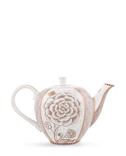 Pip Studio Tea Pot small Spring to Life | off white | 550 ml