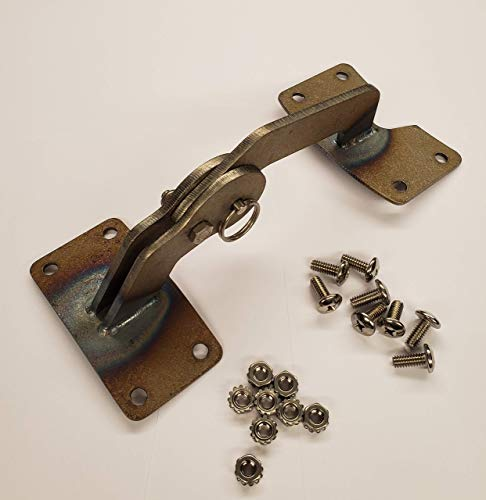 Unknown BBQ UDS Deckelscharnier (lackierbar Raw Steel)