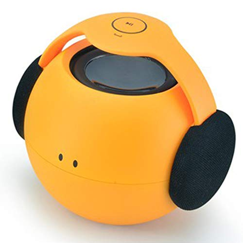 Qiyan Altavoz Bluetooth A Prueba de Agua Mini portátil Estéreo Súper Bajo Barra de Sonido Caja de Sonido Subwoofer Manos Libres para teléfono Celular-en Altavoces portátiles Naranja