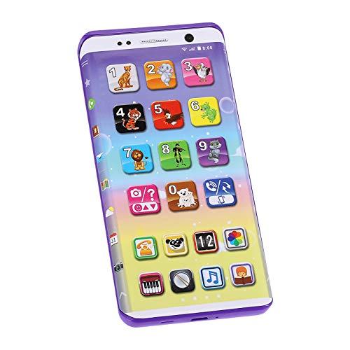 Guangcailun Teléfono móvil del bebé Que aprende el Juguete Educativo del teléfono Celular teléfono de Juguete Música máquina de la música Juguetes electrónicos para Regalo de los niños de los niños