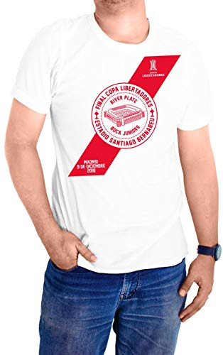 Personalizador Camiseta Final Madrid 2018 - Copa Libertadores de América - Club Atlético River Plate (L)