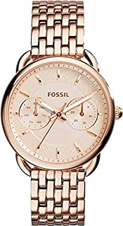 Fossil Tailor Multifunction for Women - Casual Stainless Steel Band Watch - ES3713P