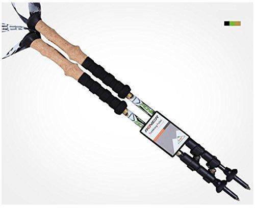 Senderismo Escalada palillo de fibra de carbono Sticks EVA