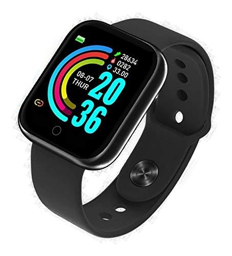 reloj inteligente Bluetooth Y68,1,3 pulgadas, pantalla IP68, impermeable, podómetro, reloj inteligente con control remoto de la cámara