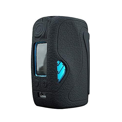 DSC-Mart Texture Case for WISMEC Reuleaux Tinker 300W TC MOD, Anti-Slip Silicone Skin Cover Sleeve Wrap Gel (Black)