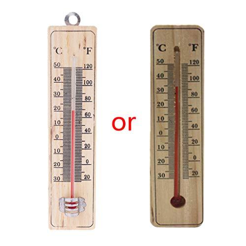 qianqian56 muur Hang Thermometer Binnen Tuin Huis Garage Kantoorruimte Hang Logger
