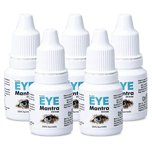 Dr Juneja's Eye Mantra Ayurvedic Eye Drops 10ml, Pack of 5