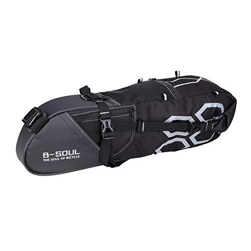 #N/V B-SOUL - Bolsa para tija de sillín de bicicleta con cremallera