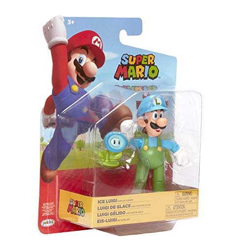 Fire Flower /& Ice Flower 7 nobrand 2 PCS//Set Super Mario Bros Figures 17cm