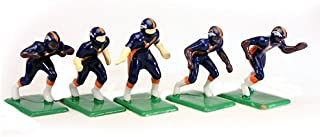 Tudor Games 4-04-D NFL Home Jersey - Denver Broncos Dark Pants Painted 11 Electric Football Players, Multicolor (Pack of 11)