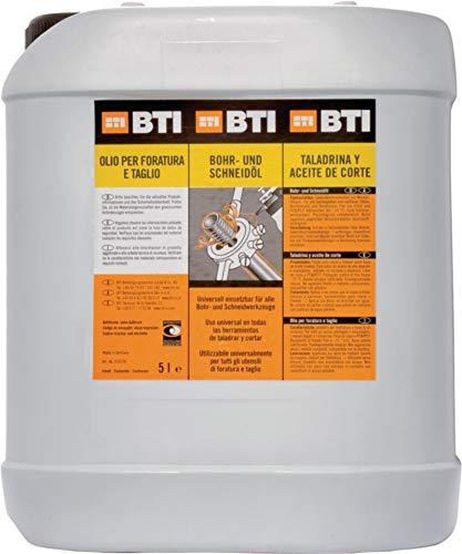 BTI Bohr- und Schneidöl für Bohr-und Schneidwerkzeuge, 5L
