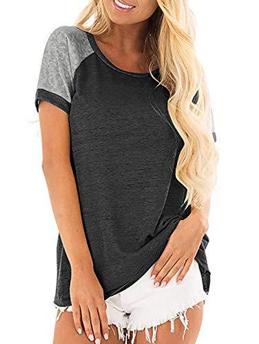 Adibosy Women Long Sleeve Fleece Sherpa Pullover Fuzzy Block Plaid Print Sweatshirt Outwear with Front Pocket Khaki L
