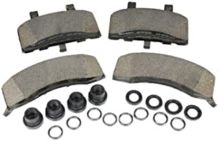 ACDelco 171-598 GM Original Equipment Front Disc Brake Pad Kit with Brake Pads, Seals, and Bushings