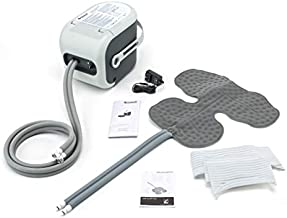 Ossur Cold Rush Therapy Machine System with Large Shoulder Pad- Ergonomic, Adjustable Wrap Pad Included- Quiet, Lightweight and Strong Cryotherapy Freeze Kit Pump