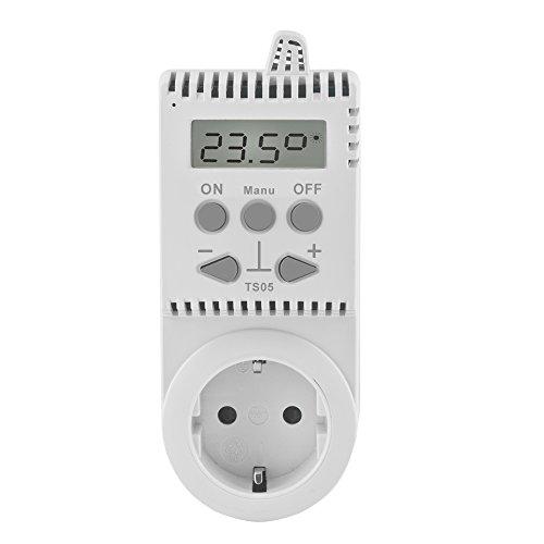 Elektrobock, Plug Thermostat TS05, Thermostat Infrared Heating.