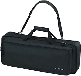 Keyboard Gig Bag Basic, 122x44x15 cm, music sheet pocket on the lid, black, tear- and waterproof