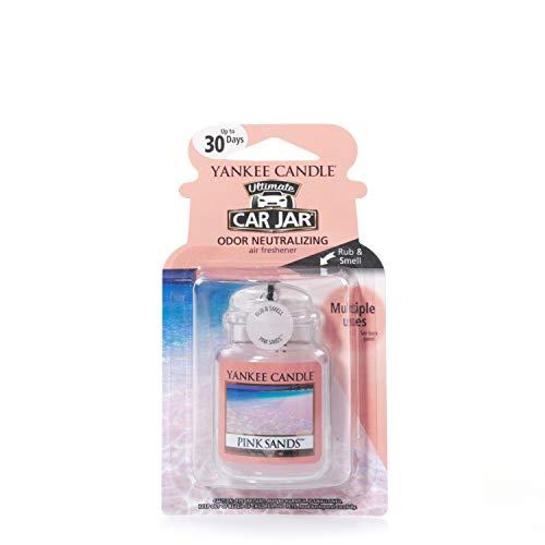 Yankee Candle 1238122E Deodoranti per Auto, Car Vaso Ultimate, Pink Sands