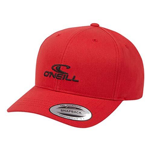ONEILL BM Wave Gorra, Hombre, Rojo (Cherry Red), 0