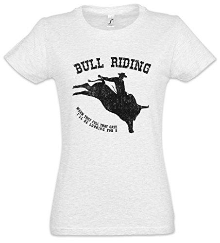 Urban Backwoods Bull Riding Mujer Girlie Women T-Shirt