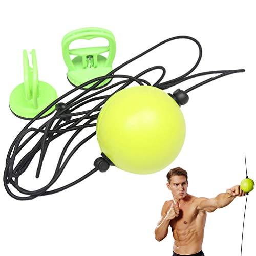 Dupeakya Boxen Reflex Ball Suspension Fight Ball Vakuum Chuck Boxen Ball Taschen Quick Fitness Training Puncher Reflex Ball Boxen