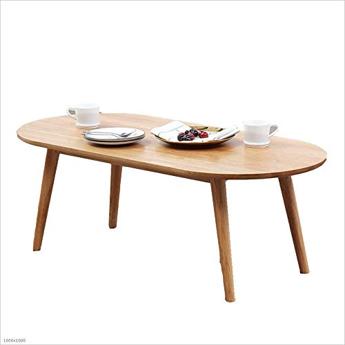 N/Z Daily Equipment Coffee Dining Table - 100 * 50/120 * 56Cm - Living Room Solid Wood Side Table B-T 100 * 50cm