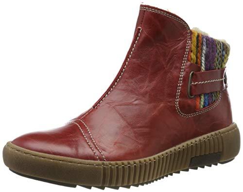 Josef Seibel Damen Maren 07 Chelsea Boots, Rot (Hibiscus-Kombi Pl88 451), 37 EU