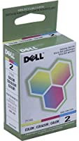 Dell 7Y745 Genuine Color Cartridge for Dell A940 and A960 Printers by Dell