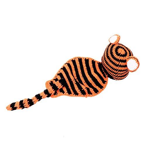 candora ™ nouveau-né bébé garçon fille Bonnet au crochet Hungry Caterpillar Hat Set Costume Party Accessoires photo