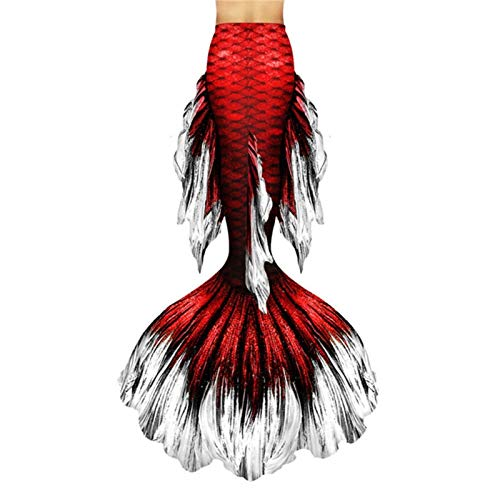 ZXCVBNM - Costume da sirena a forma di coda di sirena, costume da bagno per la piscina o la spiaggia, per il bagno, a tema a coda di sirena (colore: Style-P)