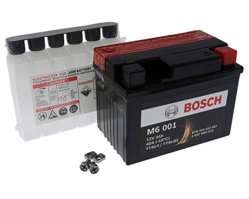 Batteria BOSCH [High Power] YT4L-BS / YTX4L-BS - SNAPPER TRATTORINI Tutt