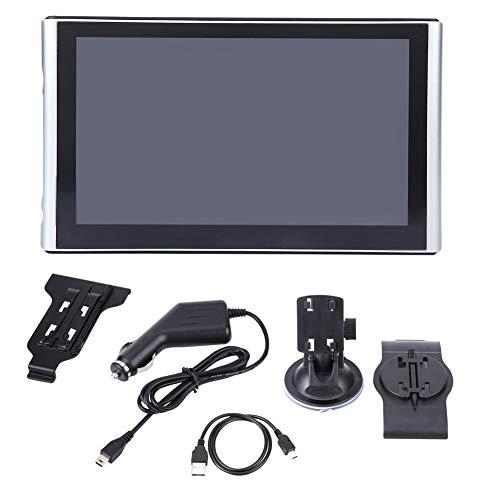 Hlyjoon Pantalla táctil de 7 Pulgadas Portátil HD Pantalla táctil portátil Navegador de Coche 256MB 8GB FM Navegación GPS Reproductor Universal