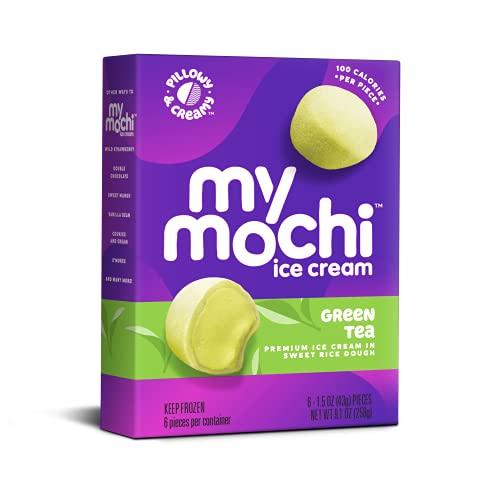 My/Mochi Ice Cream, Green Tea, (6 x 6ct. boxes)
