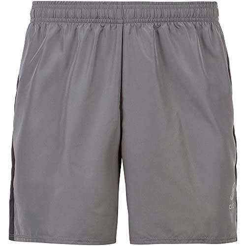 Odlo Herren Shorts ESSENTIAL 6 INCH, Odlo Steel Grey, M