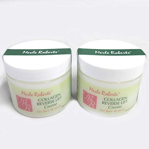 Merle Roberts Collagen Reverse Lift Creme For Face and Neck - Set of 2