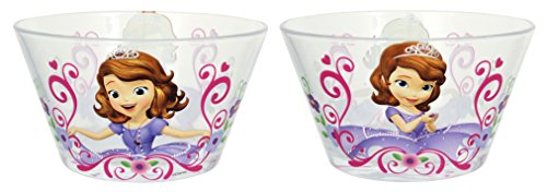 Disney Sofia the First Juice Glass Multicolor 8-Ounce Set of 4 RSquared 4012376