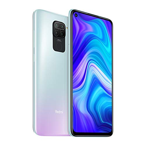 Xiaomi Redmi Note 9 3GB 64GB Smartphone 48MP Quad Camera MTK Helio G85 Octa core 6.53'FHD Telefono cellulare (White) [No NFC]