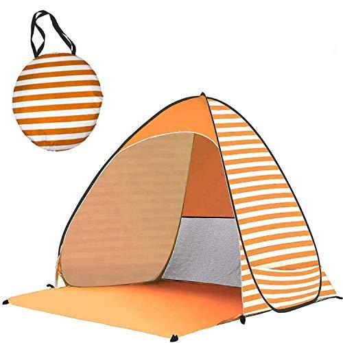 Soarmax ワンタッチテント 3-5人用 サンシェードテント キャンプ タープ ポップアップ ダブルドア メッシュスクリーン付 大空間 軽量 防水 設営簡単 紫外線防止 折りたたみ アウトドア用品 キャンプ 海 花見 運動会 登山用 日本語説明書付き