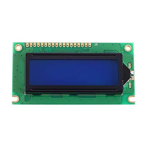 CZYU® Módulo de Pantalla LCD Blanco Rojo Naranja Verde carácter Negro luz...