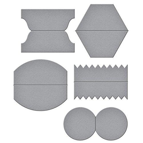 Spellbinders Shapeabilities One Tab Set Etched/Wafer Thin Dies