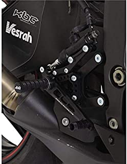 R&G Adjustable Rearsets, Kawasaki ZX6-R '07-'13 (race gearbox, not ABS)