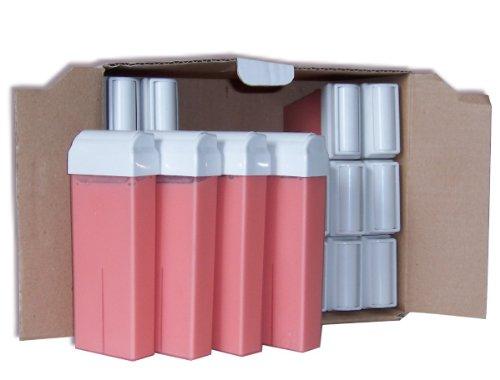 Storepil - 24 recharges 100 ml de cire à épiler jetable ROSE pour épilation